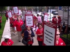 Nurses Take Their Rally to City Hall to Protest Sutter's Greed