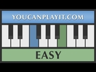 Bubble Bobble [Easy Piano Tutorial]