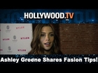 Ashley Green talks summer fashion in LA - Hollywood.TV