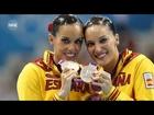 Andrea Fuentes y Ona Carbonell logran la medalla de plata en natación sincronizada