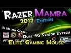 Shibby's Reviews: Razer Mamba 2012 Edition (Elite Ergonomic Gaming Mouse) & Raffle!