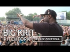 Big K.R.I.T. performs at Pitchfork Music Festival 2012