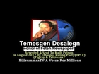 Temesgen Desalegn Arrested & SEnt To Kalit Prison By Ethiopian Ruling Party(TPLF)