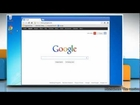 How to disable Google™ Chrome Extensions in Windows® 7