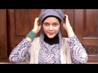 Hijab Tutorial & Make up | Jilbab Segi Empat