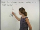 Fraction to Mixed Number - YourTeacher.com - 1000+ Online Math Lessons