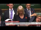Nadine Dorries apology for breaking rules on income declaration (11Nov13)