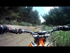 Boxing Day ride on the KTM Freeride 250R at The Sandpit