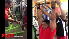 Roelly Winklaar Back and Arms Two Weeks Before 2013 Chicago Pro