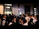 Hasidic Lubavitch Dance at Bar-Mitzvah Celebration (part 2) • בר מצווה -שמחה גדולה