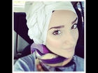 Hijab Tutorial #28 (Side-Braid Turban)
