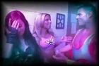 Miss April(AJ Lee,brooke Carter backstage