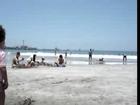 Antonia Cajigal en la playa 2006