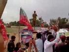 PTI Chairman IK entry to Nowshera Jalsa.